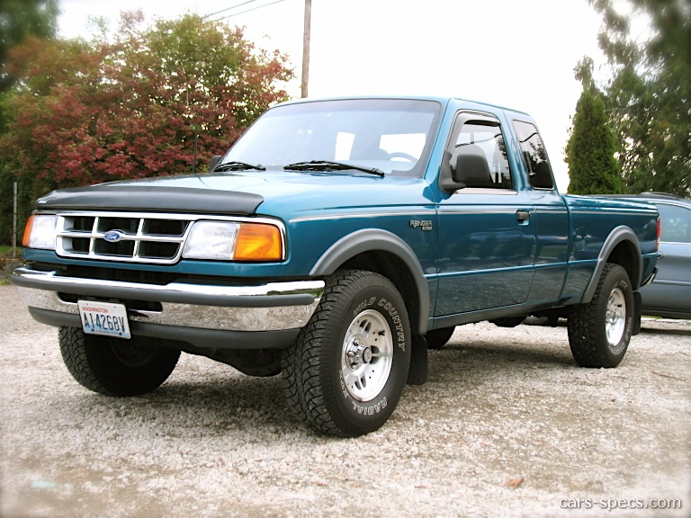 1994 ford ranger extended cab specifications pictures prices. Black Bedroom Furniture Sets. Home Design Ideas