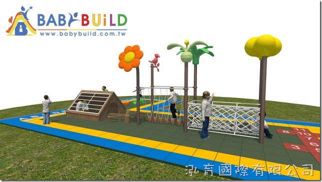 BabyBuild 兒童體適能遊樂器材
