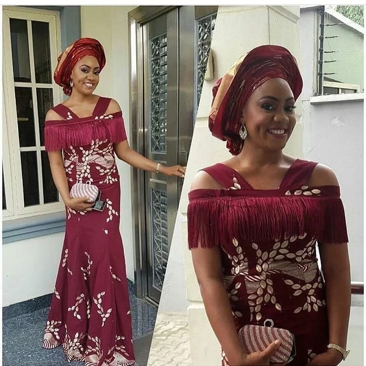 Latest Aso Ebi Styles Dresses For African Woman 1