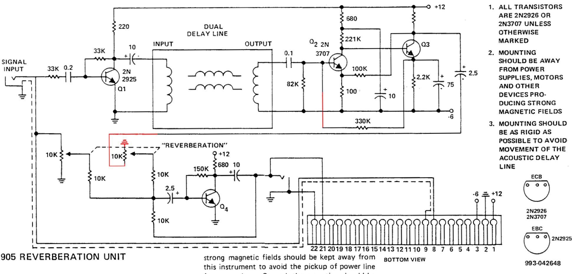 synthguys synthworld the real moog 905 reverb schematic revealed