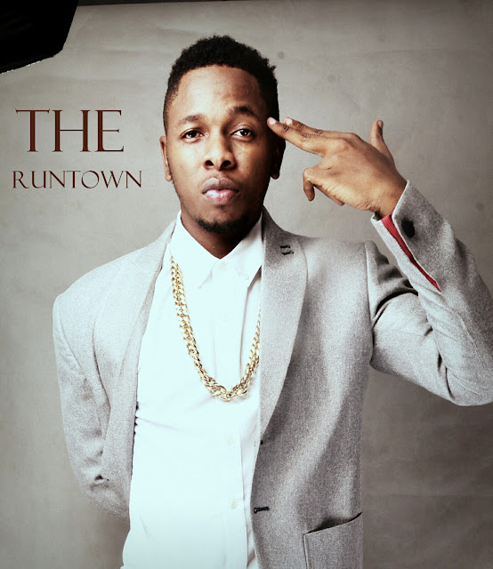 Runtown shares super cute photo of his twin