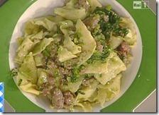 Maltagliati broccoli, salsiccia e quartirolo