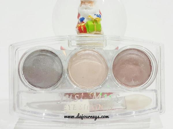 [Review] Just Miss Triple Eyeshadow #ES-223 08