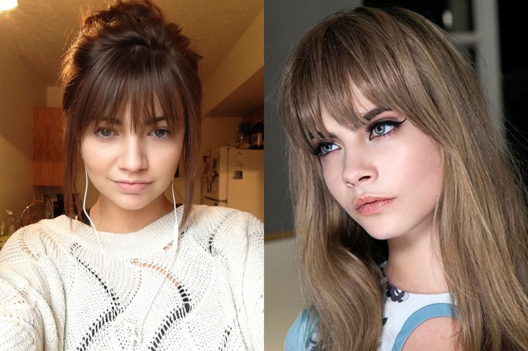 Latest Ragged Bangs 2018 For Women's Hairstyles 2