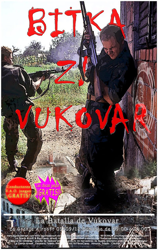 09/09/12 Bitka za Vukovar - La Granja - Partida abierta. Vukovar