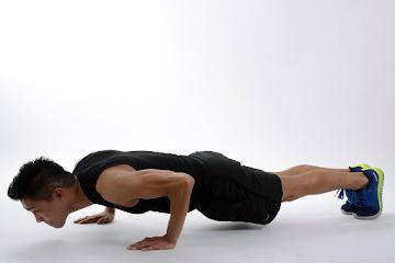 Push-ups for Biceps