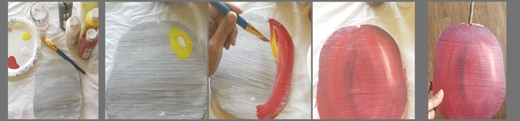 DIY paint an apple