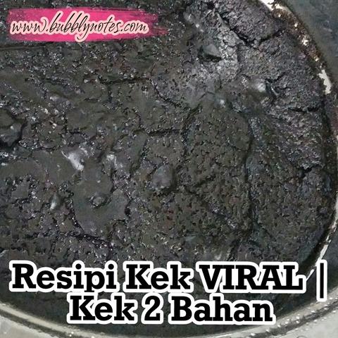 RESIPI KEK VIRAL_KEK 2 BAHAN