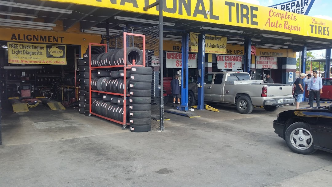 Tire Places Open Today >> National Tires Auto Repair Shop In Hollywood