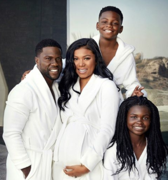 Kevin Hart and his wife, Eniko welcome son, Kenzo