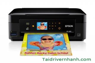 Cách download và setup driver máy in Epson XP-400