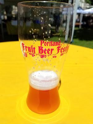 Portland Fruit Beer Festival 2016 plastic cup