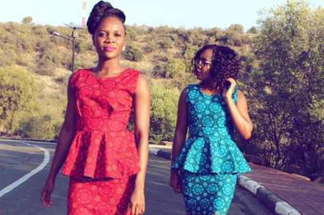 South African Shweshwe Dresses