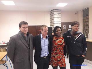 AG ASM avec Jérémie Azou, Pierre et Antoine Nougarède et...