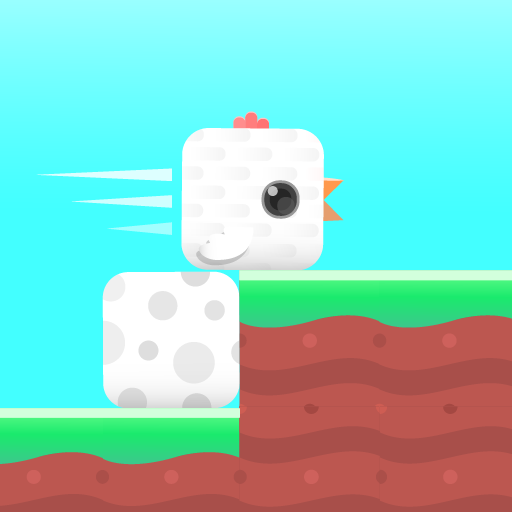 Square Bird Icon