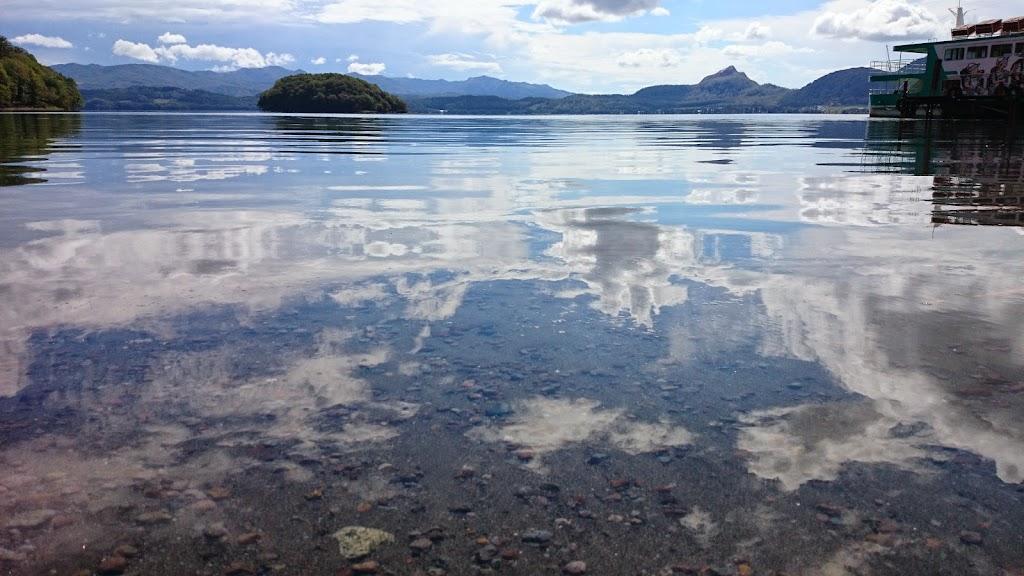 洞爺湖の中島の写真2