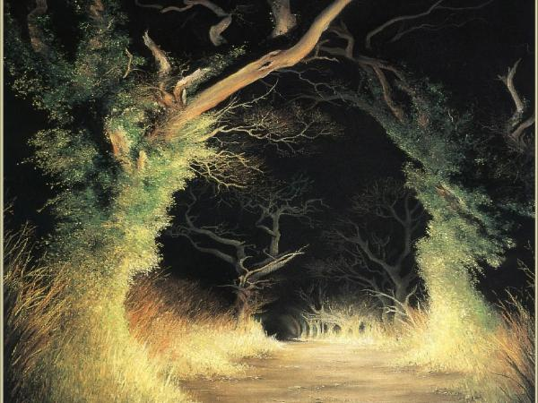Horror Landscape From Dream 7, Magical Landscapes 3