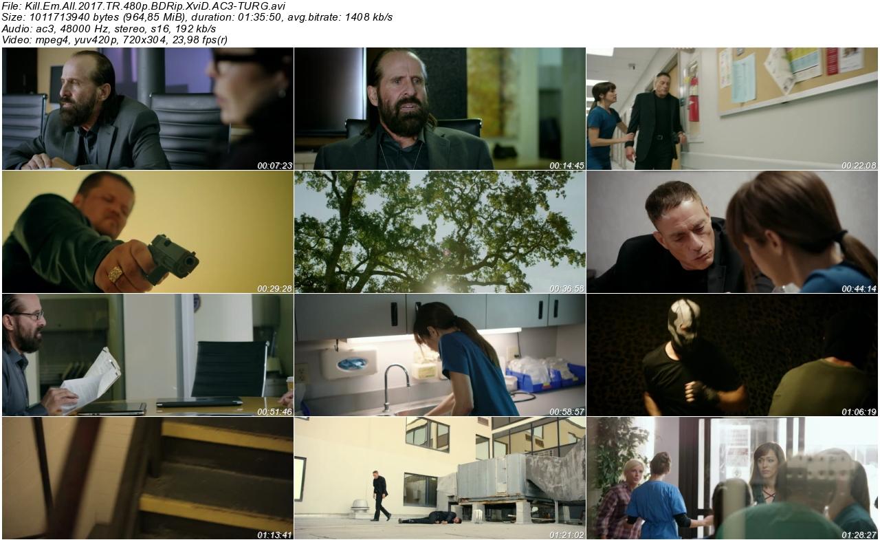 Kill Em All 2017 - 1080p 720p 480p - Türkçe Dublaj Tek Link indir
