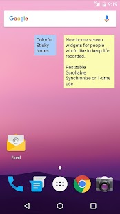 Techo Note+ (memo/sticky note) Screenshot