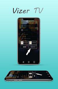 Vizer Tv App - náhled