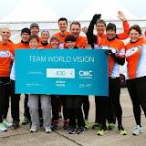 2. Running Twins & Team World Vision Marathonstaffel 17.11.2013