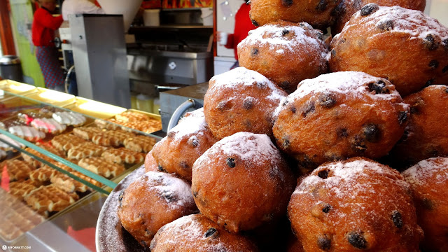 one of highest rated oliebollen (fritters) in Holland in Den Haag, Zuid Holland, Netherlands