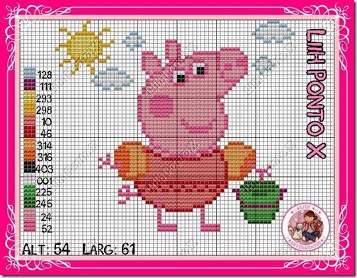 punto de cruz peppa pig (9)