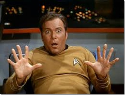 there is intelligent life Captain Kirk of the Enterprise