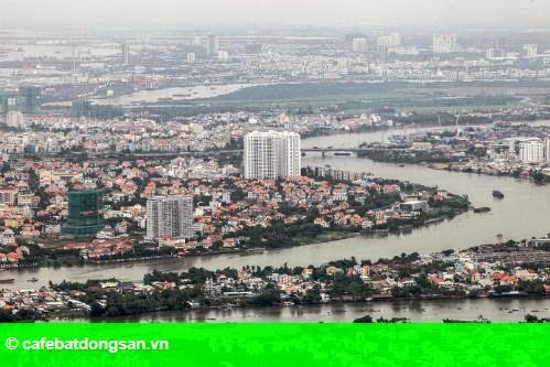 Hình 1: Nhà đầu tư Hà Nội chuộng bất động sản Sài Gòn