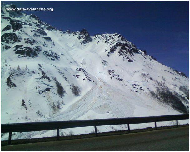 Avalanche Oisans, secteur Col du Lautaret, La Liche - Photo 1