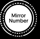 Mirror number