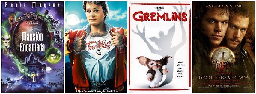 La mansión encantada, TeenWolf, los Gremlins y el secreto de los hermanos Grimm