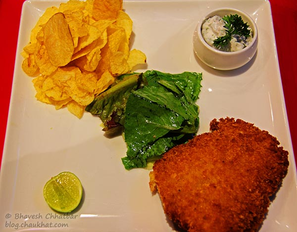 Fish and Crisp at Frisco, Koregaon Park, Pune