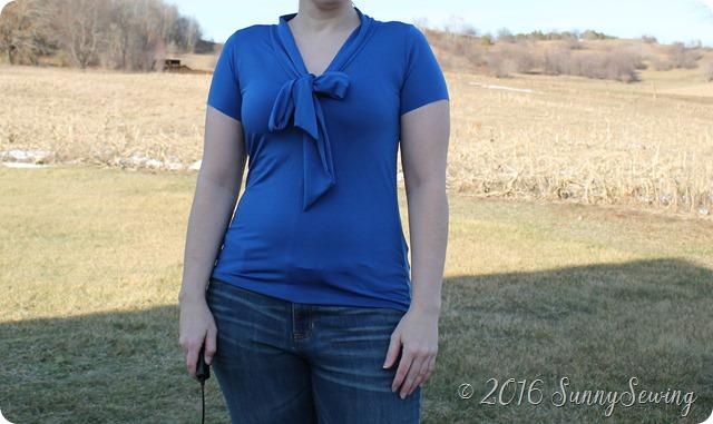blue scarf 2