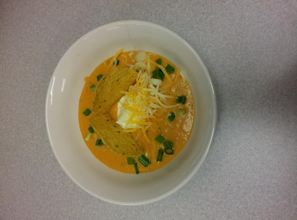 Smokin' Carrot Soup Recipe