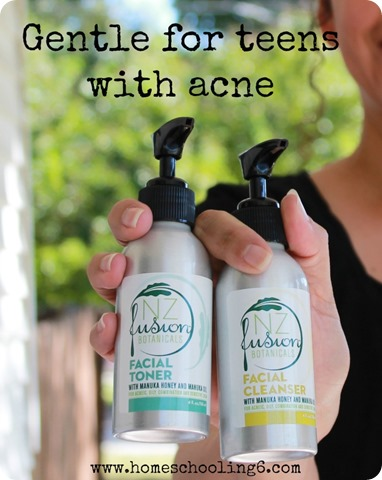 Gentle for Teens with Acne