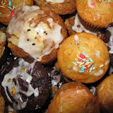 Muffinki czekoladowe, bananowe, gruszkowo-jabłkowe