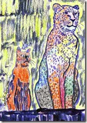 280 Cheetah and Cat