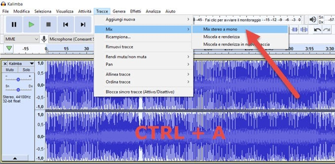 stereo-mono-audacity