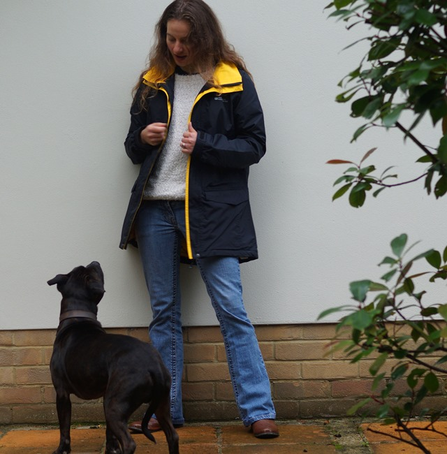 Mountain Warehouse Dogs Trust dog walking waterproof jacket