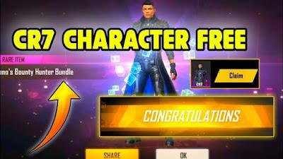 Free Fire में CR7 (Chrono) Character फ्री में कैसे लें (नया तरीका)