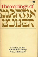 Cover of Will Herberg's Book The Writings Of Martin Buber