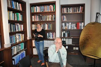 Photo: Catherine Lathwell & Dr. Fred Brooks