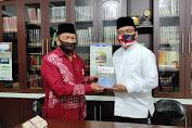 Sampaikan Gagasan Triple Track Strategy Demi Kalsel, Haji Denny Sambangi PW Muhammadiyah Kalsel