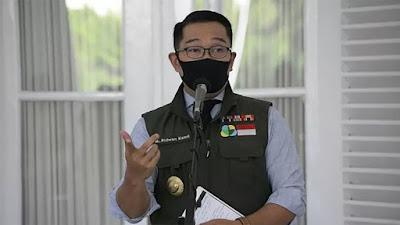 Ridwan Kamil Instruksikan Kepala Daerah di Jabar jadi Orang Pertama Disuntik Vaksin Covid-19