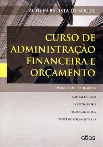 Curso de Administração Financeira Orçamento