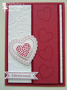 stampin up, wedding, hochzeit, hearts a flutter, bitty banners, lacy brocat, famose fähnchen