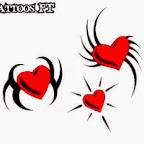 Photo - Hearts Tattoos Designs