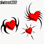 Photo - Hearts Tattoos Designs