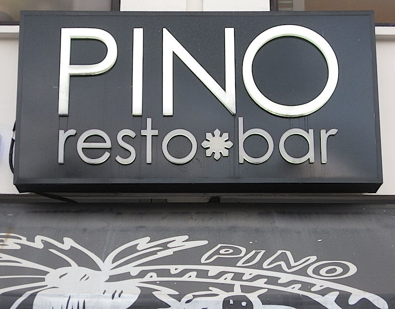 sign of Pino Resto-Bar